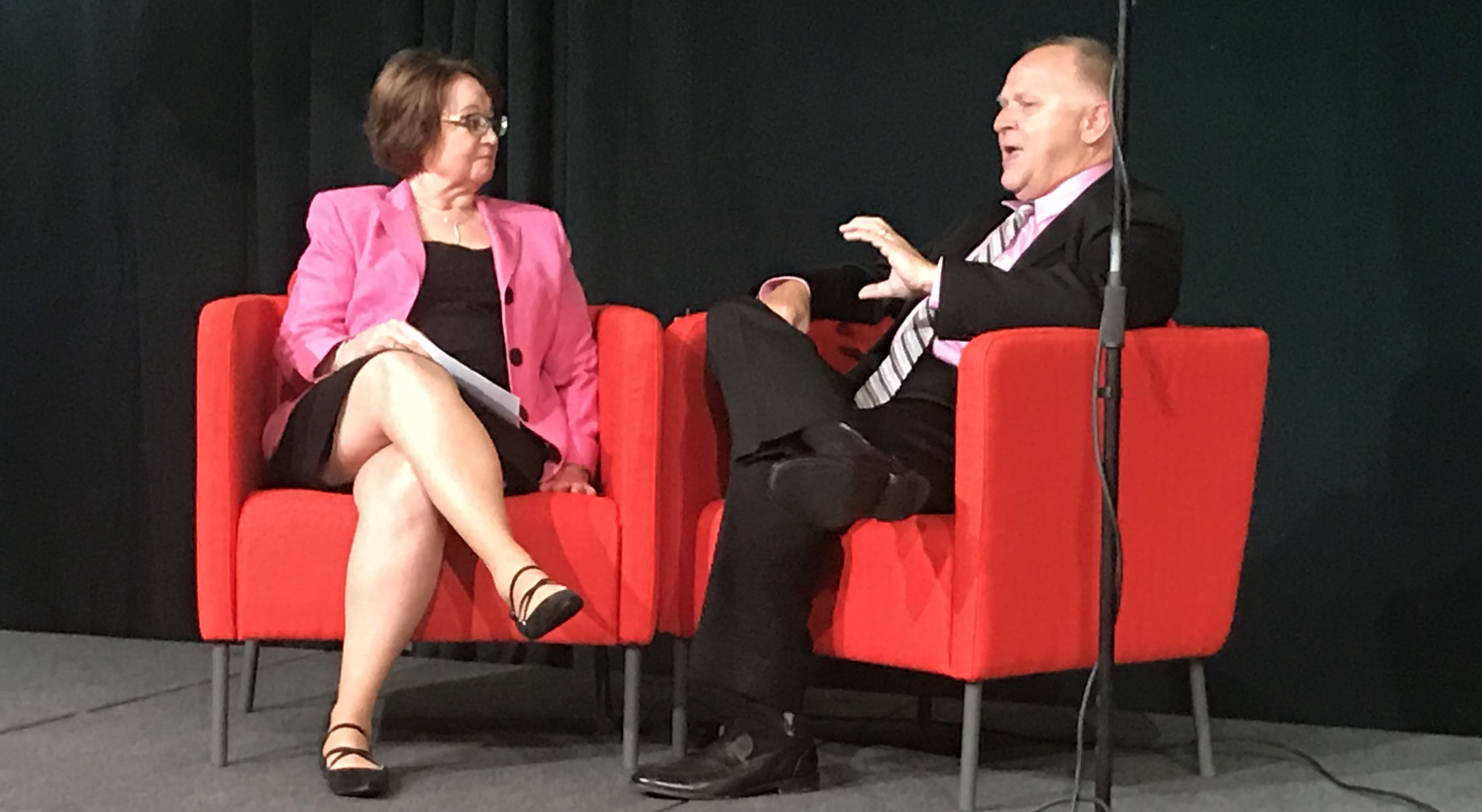 Sheryl Sommer interviews Phil Dickison, NCSBN, at the ATI National Nurse Educator Summit in April 2018 about Next Generation NCLEX.